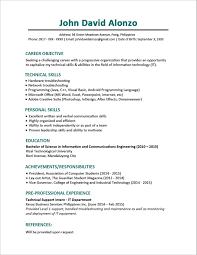 Resume Sample For Fresh Graduate Hrm Menu And Resume