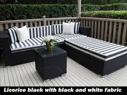 wicker indoor outdoor lounge settings