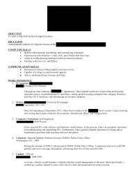 Public Policy Resume Free Resume Example And Writing Download