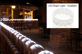 Meil Led Lights Meilo 48 Ft Led Rope Light Cool White Connectable