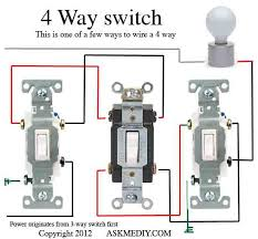 how to install a 4 way switch askmediy Four Way Switch Wiring Diagram 3-Way Switch Wiring Variations