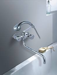 Bathtub Faucet Bathroom Faucets Waterfall Delta Diverterbathtub - Bathroom leak repair