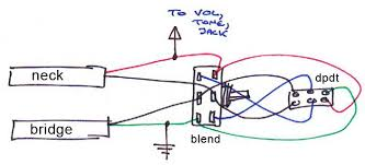 blend pot series switch for jazz bass com this should allow blend pot to be used in either series or parallel mode which would be even cleverer if it works