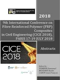 CICE2018 Abstracts | Fibre Reinforced Plastic | Composite Material
