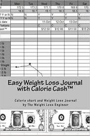 Aarp Weight Chart Easy Weight Loss Journal With Calorie Cashtm The Easy To