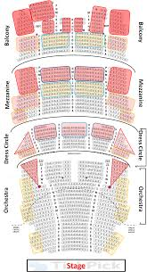 Plaza Theatre Seating Chart Meticulous Dress Circle Seating Privatebank Theatre Chicago