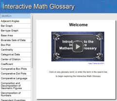 Coefficient Frayer Model Interactive Math Glossary Help With New Math Teks Vocabulary Hcde