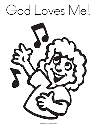 Coloring Pages On Love From God Printable Coloring Page For Kids