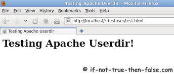 Apache Userdir with SELinux on Fedora 30/29, CentOS/RHEL 7.6/6.10 ...