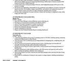 Junior Project Manager Resume Samples Velvet Jobs Utah Free Dougmohns
