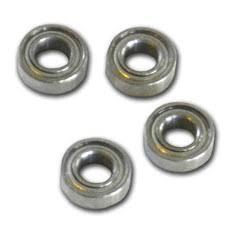 car bearings. micro ball bearings (x4) car n