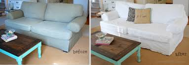 couch slipcovers before and after. Unique Couch Before And After Slipcover Intended Couch Slipcovers And A