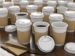 office coffee cups. Interesting Office JUMBO Set Of 55  Paper Coffee Hot Cups Travel Lids Sleeves U0026 Stirrers  12oz  360ml WHITE OfficeParty Pack To Go Disposable  To Office Cups S