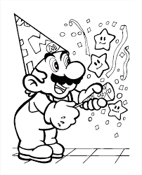 Super Mario Odyssey Colouring Sheets Printable Coloring Pages Bros R