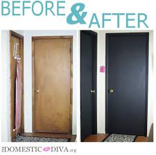 paint for interior doorsThe Domestic Diva  Paint an Interior Door with Chalkboard Paint