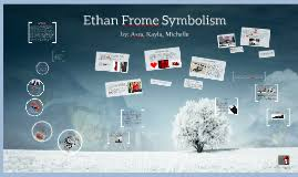 ethan frome symbolism by on prezi