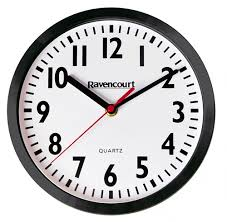 wall clocks for schools commercial