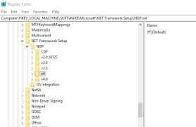 how to check which net framework