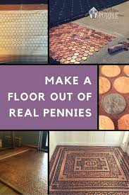 penny tiled floor cool man cave ideas to try this week diy projects