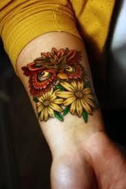 фото тату цветы тату салоны