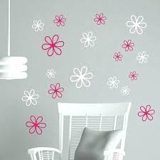 baby wall art decals wall decals daisy flower stickers wall stickers vinyl flower decals girls room