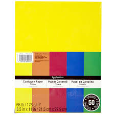 Colored Cardstock Paper Michaels L L L