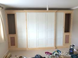 ikea fitted bedroom furniture. How To Use Standard IKEA PAX Wardrobe Frames And Doors Along With Some Extra Timber Framework Create That Traditional Custom Fitted Look. Ikea Bedroom Furniture B
