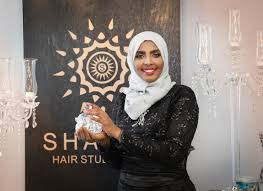 hijab wearing muslim americans get haircuts in bats closets and restrooms one salon wants to change that