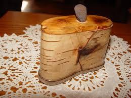 1940 s vine handmade birch bark snuff box minnesota