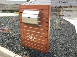 Mpb1402 Semi Curve Lockable Mailboxes Stainless Steel Mail Boxes Modern Urban Style Quality Is Top Anti Rust Sturdy As Reviews From Client