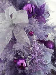 Shabby Chic Gray And Silver Wedding Pew Bow Silver Gray Christmas Purple Christmas Tree Bows