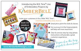 Kimberbell Designs Kimberbell Design New Products March 2016