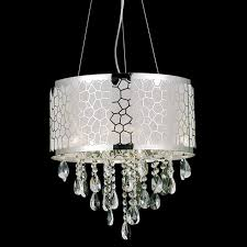 crystal chandelier with drum shade. Modern Crystal Chandelier With Drum Shade A