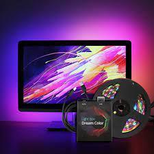 Ambient Light USB LED Strip light 5050 RGB Dream color ws2812b strip for TV  Desktop PC Screen Backlight lighting 1M 2M 3M 4M 5M|LED Strips