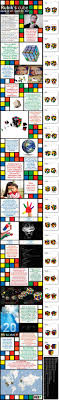 Pattern To Solve A Rubix Cube Best Rubik's Cube Solved In 48 Moves Or Less Daily Infographic