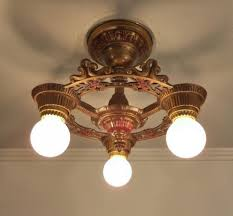Admirable Art Deco Ceiling Fan For Your Home Decor: Proven Art Deco Ceiling  Fan Lamp