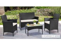 picture of alps 4 pc patio sofa set