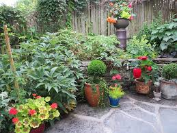 Small Picture Container Garden Container Plants Arranged According To Height