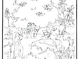 Creation Coloring Pages For Preschoolers Alellajoveinfo