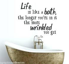 Ba Quote Cool Bathroom Sayings For Walls Quote New Brilliant On And 48 Funny Ba