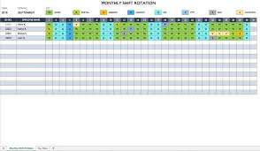 Free Employee Scheduling Template Excel Scheduling Spreadsheet Free Work Rotation Schedule Templates