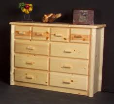 rustic look furniture. This 10 Drawer Chesser Will Add A Rustic Look To Any Cabin Or Lake Home  Bedroom. It Is The Largest And Most Impressive Piece In Generation Log Furniture Furniture