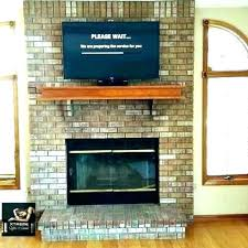 how to mount a tv on a brick fireplace luxury mount on brick fireplace for mount