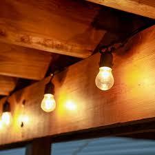 Vintage Plug In Lights Heavy Duty 15 Socket Vintage Light Strand With Bulbs