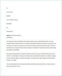 Letter Of Authorization Form Example | Getcontagio.us