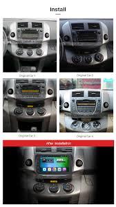 9 inch 1024*600 Touchscreen Radio for 2006-2012 Toyota RAV4 ...