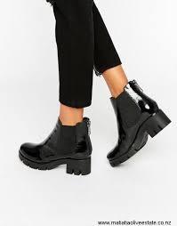 aldo hi continual shine chelsea boots black shoes quality patent women aldo reliable cdgiknrw23