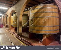 Photo Of Oak Wine Barrels Used For Storage