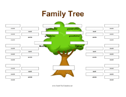 famiy tree extended family tree template