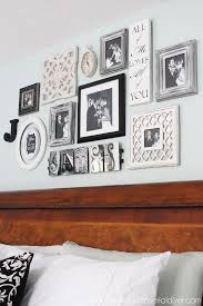 bedroom wall decor above bed
